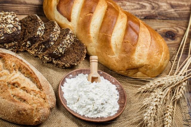 小麦を使用したパン