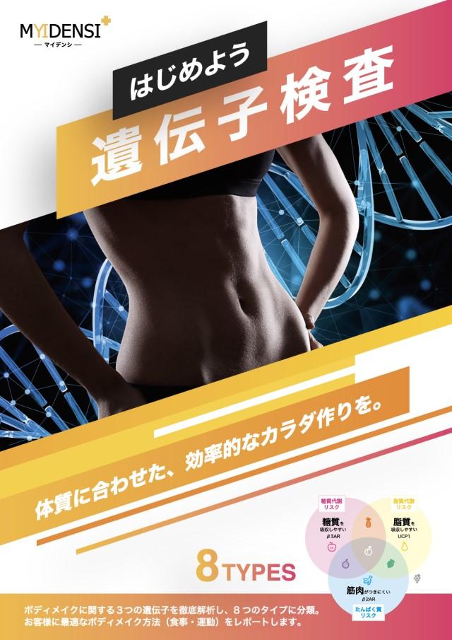 ボディメイク遺伝子検査